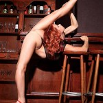 Extremely flexible women expose some of the sweetest parts