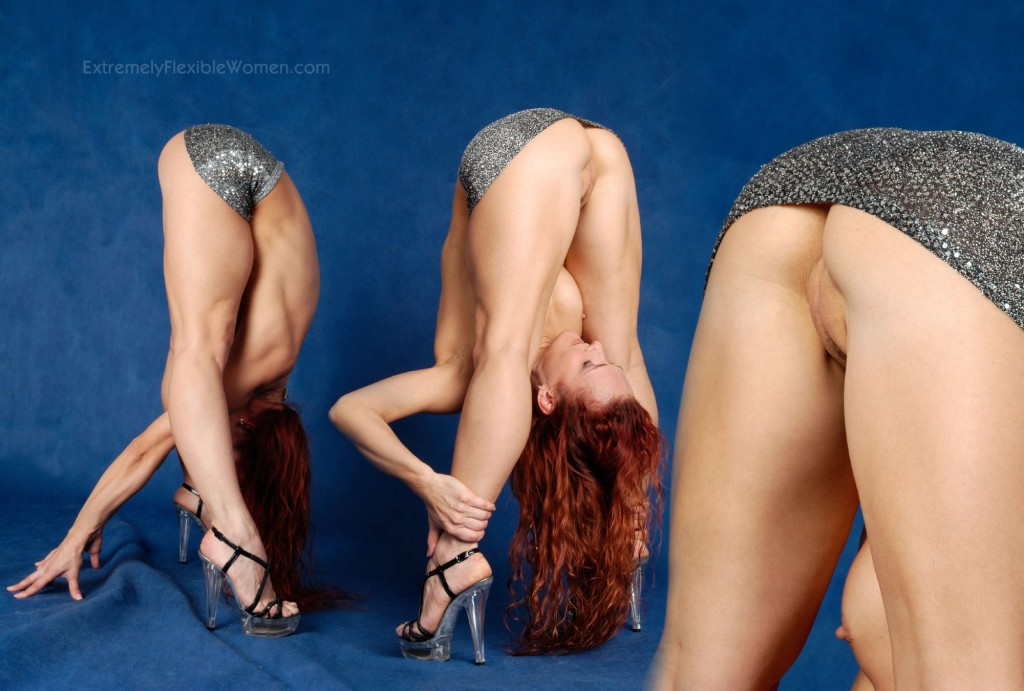 Sexy extremely flexible women