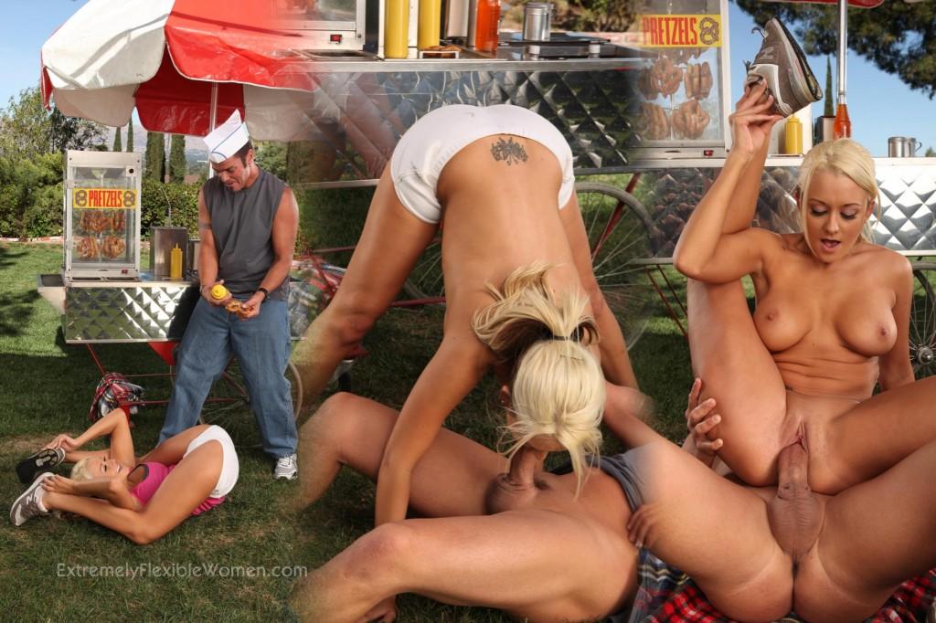 Flexible women